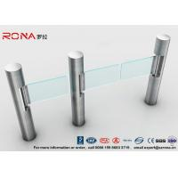 Best Intelligent Automatic Swing Barrier Gate With Aluminum Alloy Mechanism with people counting systems wholesale