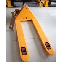 China 2 Ton 2.5 Ton Hand Pallet Jack , Hydraulic Pallet Truck PU Wheel CE Certificated on sale