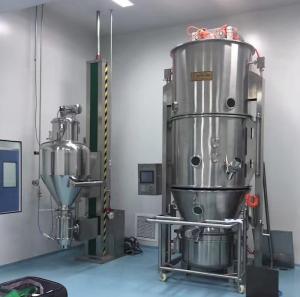 300 Model Auto Feeding Fluid Bed Dryer Machine / Equipment For Pharmaceutical