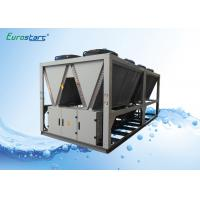 Classical R134A Gas Air Cooled Screw Chiller Commercial ISO9001 Certificates