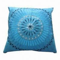 Best Embroidery Mock Suede Cushion Cover wholesale