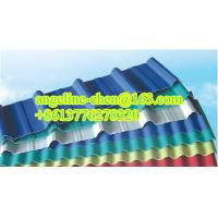 Best Plastic PVC+ASA imitation color steel roofing tile roofing sheets wholesale