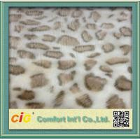 Best 100% Polyester Soft Lamb Wool Fake Fur / Faux Fur Fabric For Auto Interior Upholstery wholesale