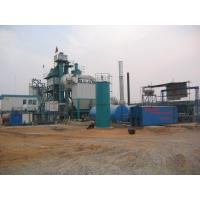 Quality 710m 2 Filtering Area Air Back Flushing Type Bitumen Hot Mix Plant With WAM Screw Conveyor wholesale