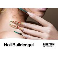 Best Strong Adhesion Thick Uv Gel Nail Builder For Extend Nails Jelly Gel Long Stay wholesale
