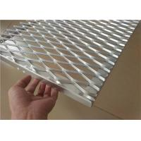 Best Expanded Aluminum Wire Mesh , Metal Wire Mesh For Building Wall Materials wholesale
