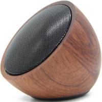 China Wireless Outdoor Bluetooth Speaker Gifts Creative Wood Sound Mini Natural Solid Wood Speakers on sale