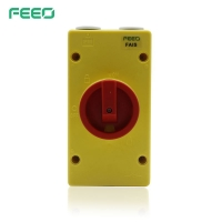 Best Large Contrast Color 230V 10mm AC Isolator Switch wholesale