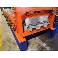 Best 22kw 5 Tons / Hour Floor Deck Roll Forming Machine With Coining Pr Emboss wholesale