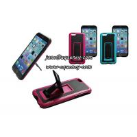 Best Hot Iphone6 mobile phone case with holder, mobile phone case cover with phone stand wholesale