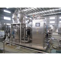 Quality High Pressure Carbonated Beverage Mixer Machine 1000 - 6000 L/hr wholesale
