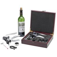 China 6-piece Stainless Steel Wine Accessory with Solid Handle (R600) on sale