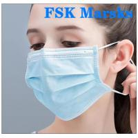 Best Medical Non Woven Face Mask Protection Against Virus With Melt Blown Cloth wholesale