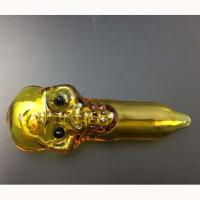 Best Cartoon Cool Design Yellow Hookahs Smoking Handy Pipe Straight Tube OEM / ODM Available wholesale