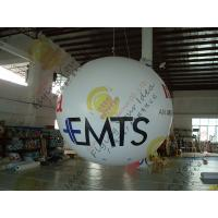Cheap Bespoke Helium Inflatable Advertising Balloon , 0.18mm PVC Sealed Inflatable for sale