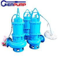 Best WQ Sewage Industrial submersible sump electric water centrifugal pump coal mine wholesale