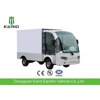 Best Stainless Steel Container Electric Cargo Van With 2 Seats Customized Dimension wholesale
