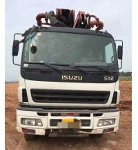 Best ISUZU-SANY Used Concrete Trucks , Diesel Used Concrete Mixer Truck With Pump wholesale