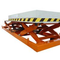 Quality 1.2m industrial Stationary Scissor Lift , aerial hydraulic lifting platform for Work Shop wholesale