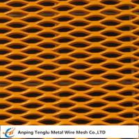 Buy cheap Decorative Expanded Metal Mesh Made by Aluminum or Carbon Steel for Architectura from wholesalers