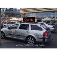 Best CE Double Sided Car Led Sign Display / 40000 Dots Led Sign For Car , 160 Vision Angle wholesale