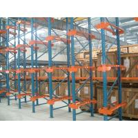 Best Spray Powder Coating Drive in racking 1500KG Customized 10M with bracket Beam wholesale