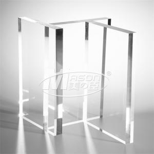Best A3 Plexiglass Plastic High Transparent Hard Clear Acrylic Sheet 1050x2050mm wholesale