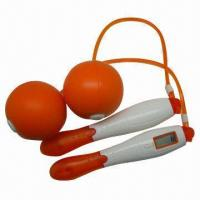 Best Calories Digital Skipping Rope, Made of PP Handle and PVC Rope wholesale