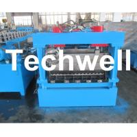 Best 1250mm Material Width, Steel Metal Corrugated Panel Forming Machine With Punching wholesale