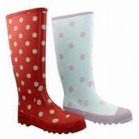 Best Women's Rubber Rain Boots, Fashionable Style, High Quality Product wholesale