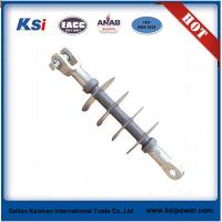 China OEM designed 11kv / 33kv composite suspension insulator at competitive price on sale