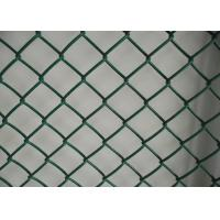 Best Garden Protect Plastic Wire Mesh / Chain Link Fence PVC Coated Low Carton Steel wholesale