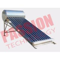 Best 120L Integrated Solar Water Heater Tubes , Solar Hot Water Heater System For Family wholesale
