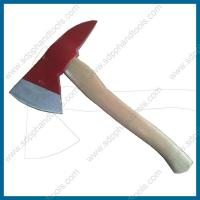 China short handle fire fighting hatchet, 1000g axe head, wood handle or fiberglass handle, high quality fire rescue tool on sale