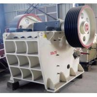 Buy cheap High Capacity Jaw Crusher Machine PE 500 X 750 20 - 52 T / H Mining Rock Crusher from wholesalers