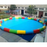 Quality inflatable round swimming pool  for family ,specially for children wholesale