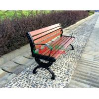 Best Brown  High Density Wood Plastic Composite Bench 150 * 54 * 73cm Weather Resistant wholesale