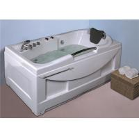 Best Cheap  whirlpool bathtub / jacuzzi  white color hot tub with handle shower wholesale