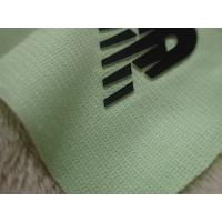 Best Two Layers Color Silicon Heat Transfer Clothing Labels With Soft Hand Feel For Outdoor Garment wholesale