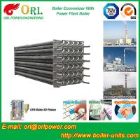 Best Water Tube Boiler Stack Economizer Alloy Steel , Power Plant Economizer For Boiler wholesale