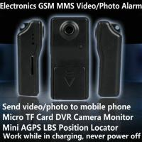 Best Electronic GSM MMS Alarm Micro TF DVR Camera Locator W/ Send Video Photo to Mobile Phone wholesale