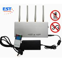 Best 3G / GSM Desktop Remote Control Cellphone Jammer / Blocker EST-505A wholesale