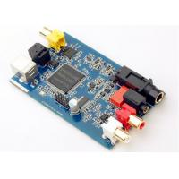 Best Router Printed Circuit Board Assembly FR-4 Blue Soldmask Pcb Control Board wholesale