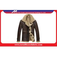 Best Surper-Thick Warm Leather Mens Outdoor Jackets Winter Mens Overcoats wholesale