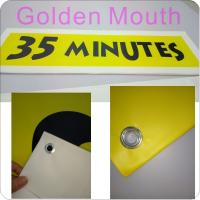 Buy cheap Canvas / PVC Vinyl Banners Custom Banner Flags With Inkjet Printing from wholesalers