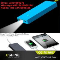 Best Good Promotional Gift Solar Charger with Led Light wholesale