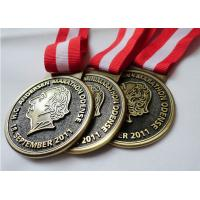 Best Customized Antique Brass / Copper / Zinc Alloy Plating HC Andersen Marathon medal with Die Casting wholesale