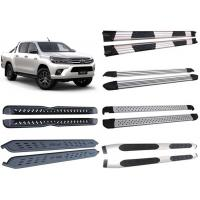 Best Decoration Accessories Alloy And Steel Side Step Boards For 2015 Toyota Hilux Revo Pick Up wholesale