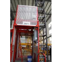 Quality Construction Material Man Material Hoist / Lifting Hoist Equipment With Single And Double Cage wholesale