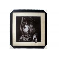 Best Stock 5D pictures with Frame 3D Lenticular Pictures Popular Wolf Image wholesale